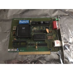AN-220 Arcnet Card PC-AT 8 Bit ISA SL90C65 BNC Connector RG62